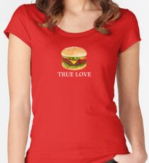 THE OC - Seth Cohen Inspired 'True Love' Women's Fitted Scoop T-Shirt
