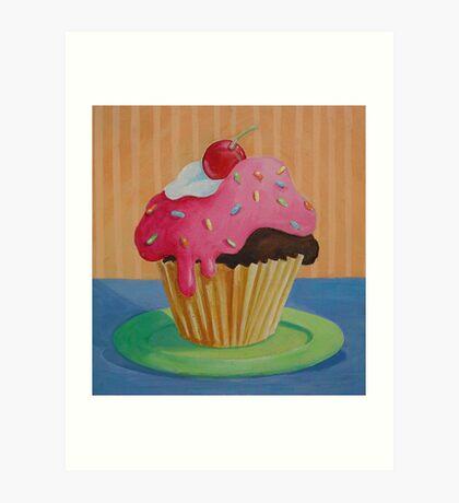 Cupcake 1 Art Print