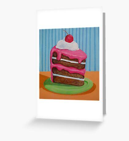 Cake slice 1 Greeting Card