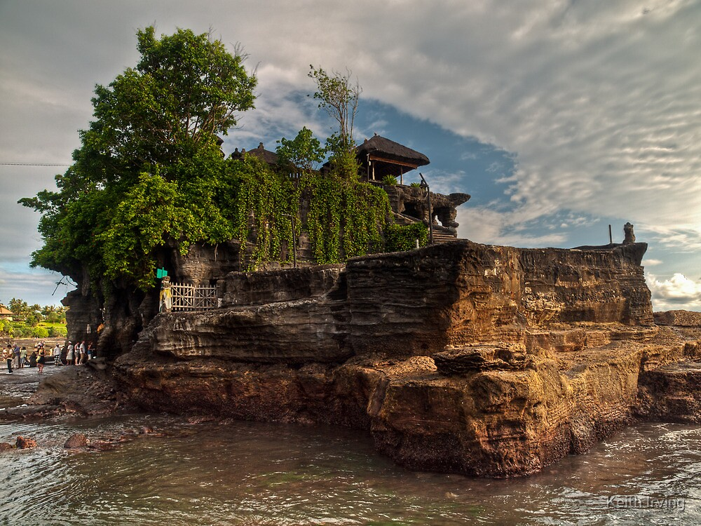 Tanah Lot (HDR) by Keith Irving
