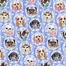 Lacy Dogs by miranema