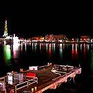 Galveston By Night II by Michael Reimann
