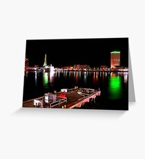 Galveston By Night II Greeting Card