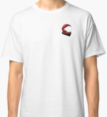 Red Space Helmet Classic T-Shirt
