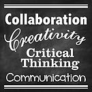 Collaboration, Creativity, Critical Thinking, Communication by ForTheTeachers