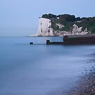 Sunrise at the White Cliffs of Dover by Ian Middleton