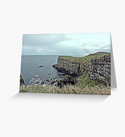 Antrim Coastal View Greeting Card