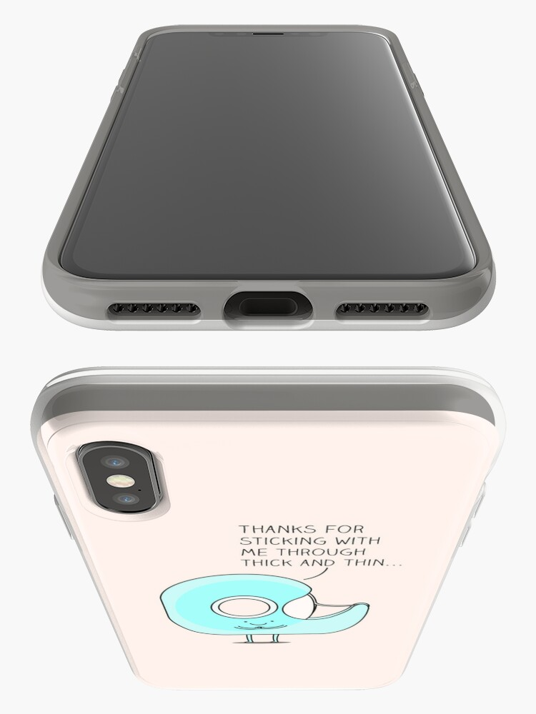 Alternate view of Let's stick together... iPhone Case & Cover