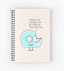 Cuaderno de espiral Mantengámonos juntos...