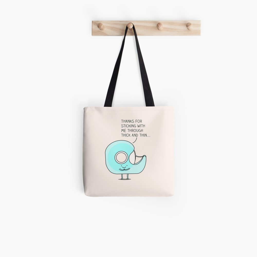 Let's stick together... Tote Bag
