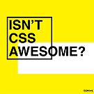 Isn't CSS Awesome? by Gianni A. Sarcone