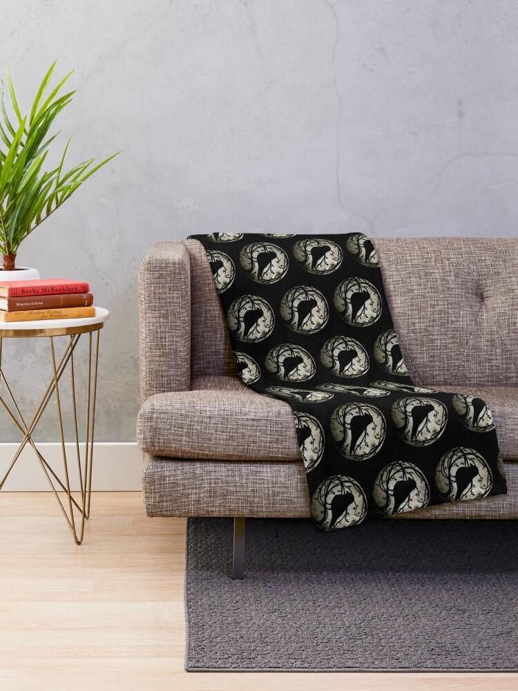 Alternate view of Smol Beatrice Throw Blanket