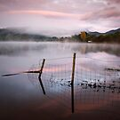 Autumn colour, Loch Ard by David Mould