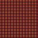 Red and Gold Plaid by Sarinilli