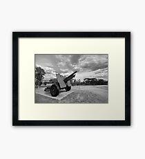 War Memorial Framed Print