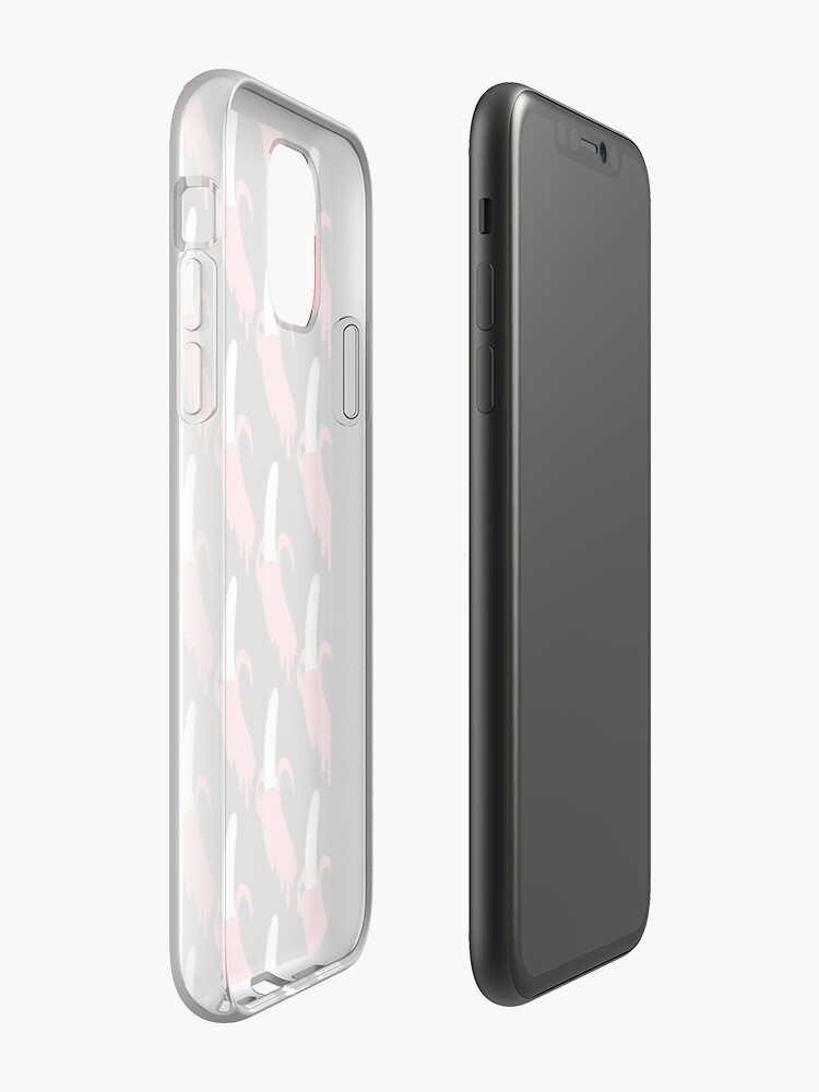Coque iPhone « BANANE JUS DE ROSE », par Spinickus