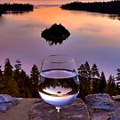 Happy Hour at Emerald Bay by Justin Baer