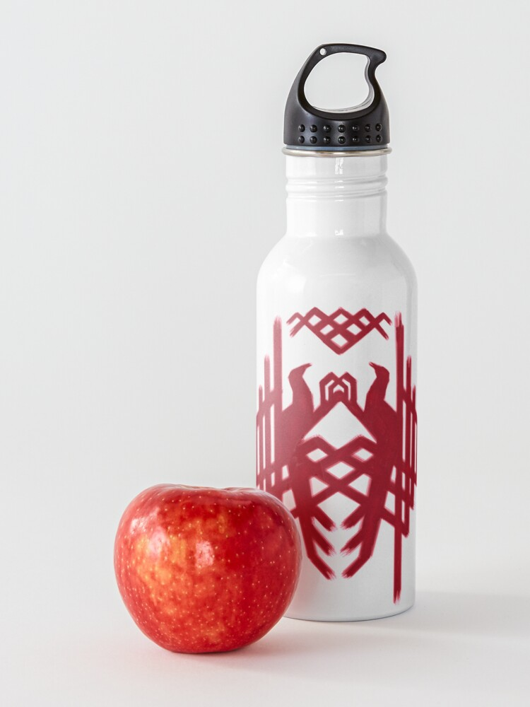 Alternate view of Hawke's Amell Family Crest | Dragon Age 2 Crest Water Bottle