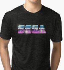 Sega Logo - Space Chrome Tri-blend T-Shirt