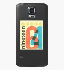 Nineteen 64 Case/Skin for Samsung Galaxy