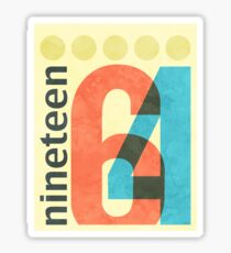 Nineteen 64 Sticker