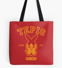 Tepig - College Style Tote Bag