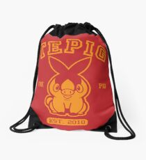 Tepig - College Style Drawstring Bag