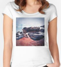 Castles In The Sand Women's Fitted Scoop T-Shirt