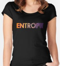Entropy - From Order to Chaos Women's Fitted Scoop T-Shirt