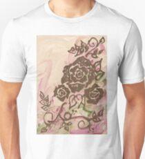 Henna Rose Swirl Unisex T-Shirt