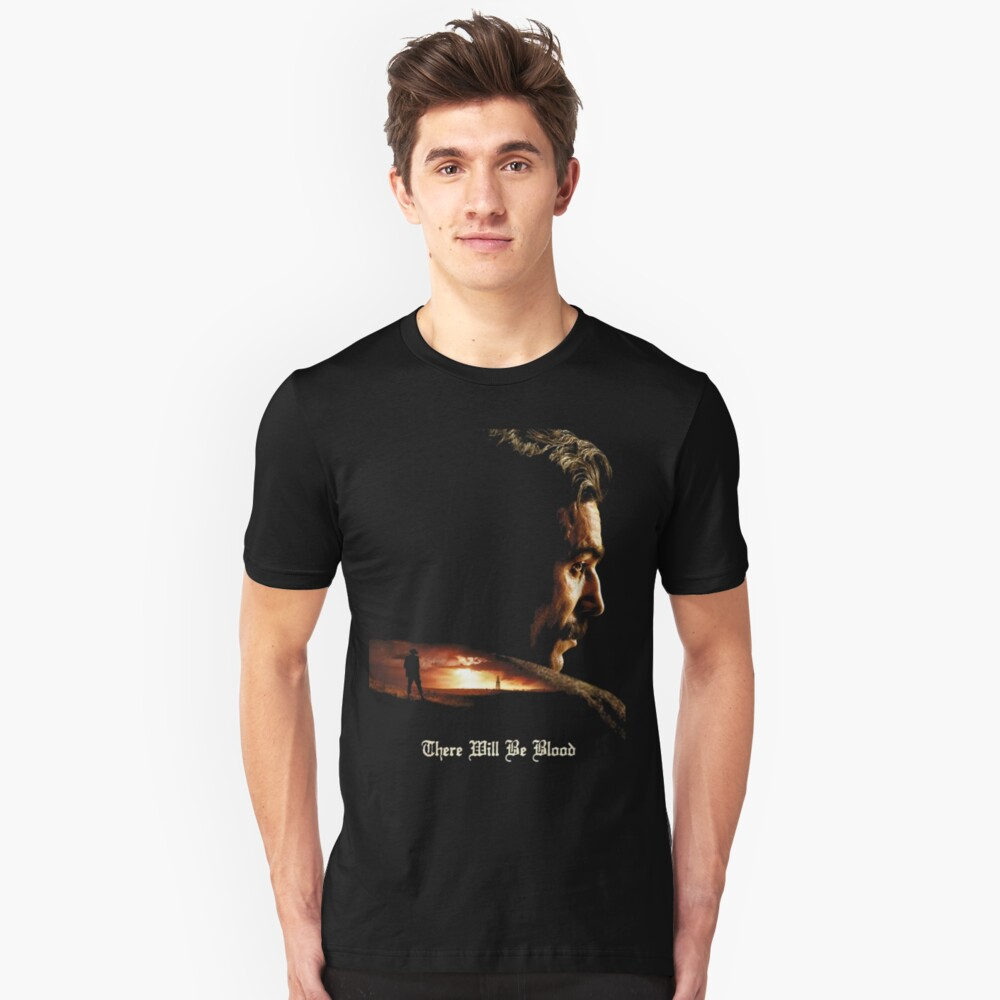 There Will Be Blood - Plainview Slim Fit T-Shirt