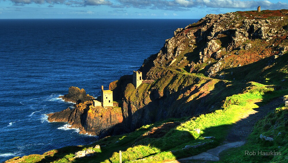 Crown Tin Mines of Botallack by Rob Hawkins