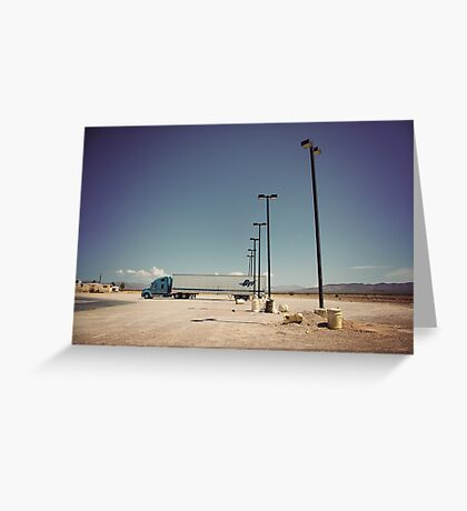 8000 miles USA : On the road 3 Greeting Card