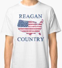 Retro 80s Reagan Country Classic T-Shirt