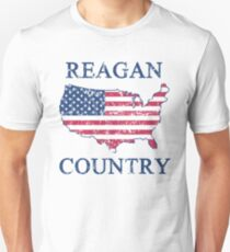 Retro 80s Reagan Country Unisex T-Shirt