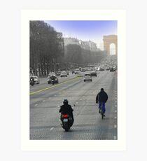 Champs Elysees II Art Print