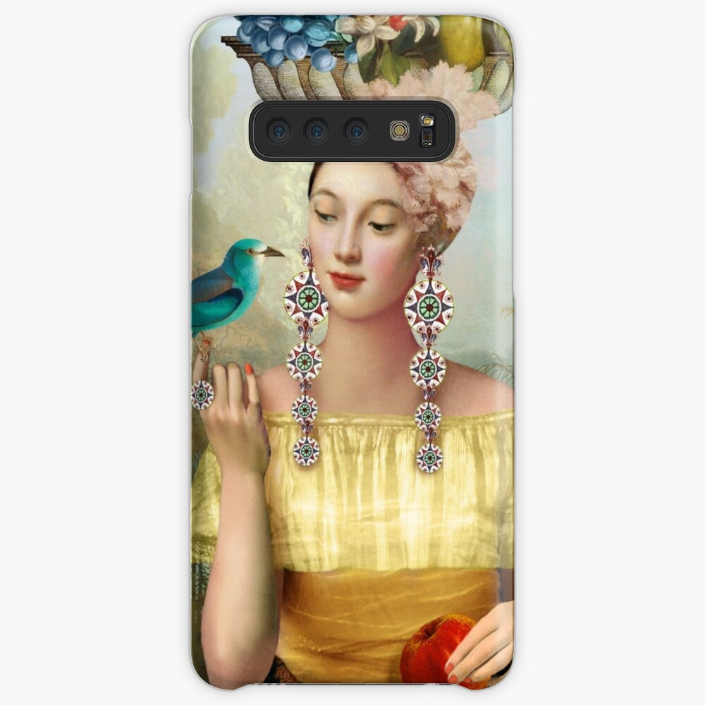 Nine of Pentacles Case & Skin for Samsung Galaxy