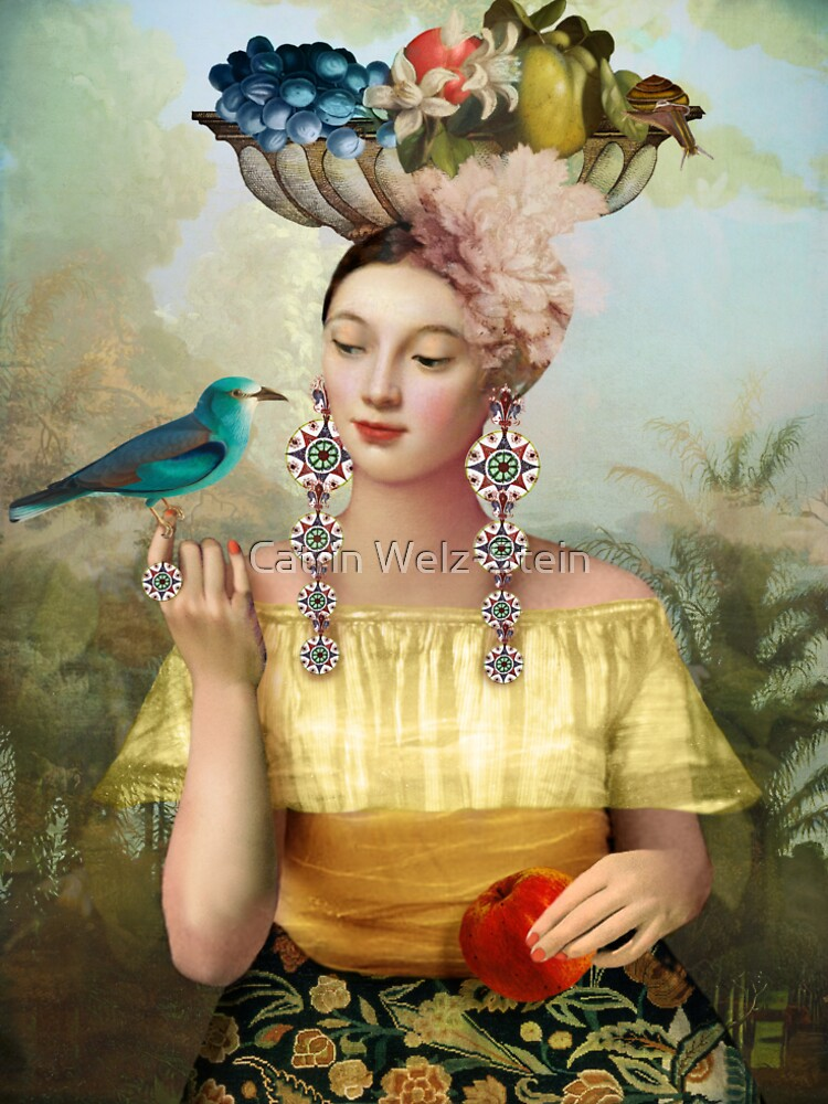 Nine of Pentacles by catrinarno