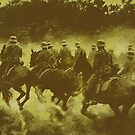 WWI..German Cavalry.. Eastern Front by edsimoneit