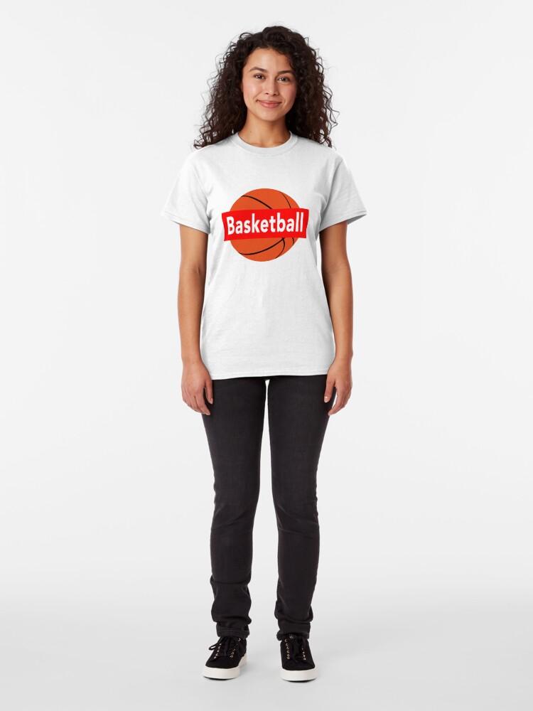 Alternate view of Basketball Sport Brick Classic T-Shirt