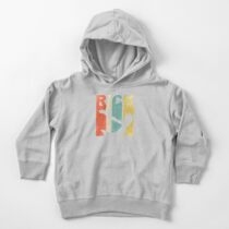 Vintage Rick Sanchez  90s and 80s Style Toddler Pullover Hoodie