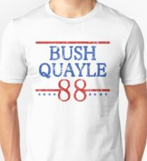 Retro Bush Quayle 88 Election Unisex T-Shirt