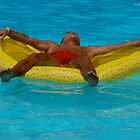 Yellow Raft by Anthony JV Rufolo