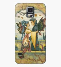 Autumn Fairies and Baby Dragon Case/Skin for Samsung Galaxy