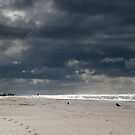 Autumn at the beach by zarkhoc