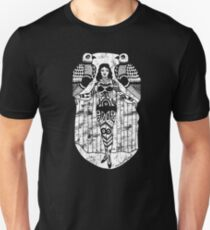Tattoo Lady with Birds Unisex T-Shirt