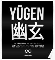 Yūgen (幽玄) - White Poster