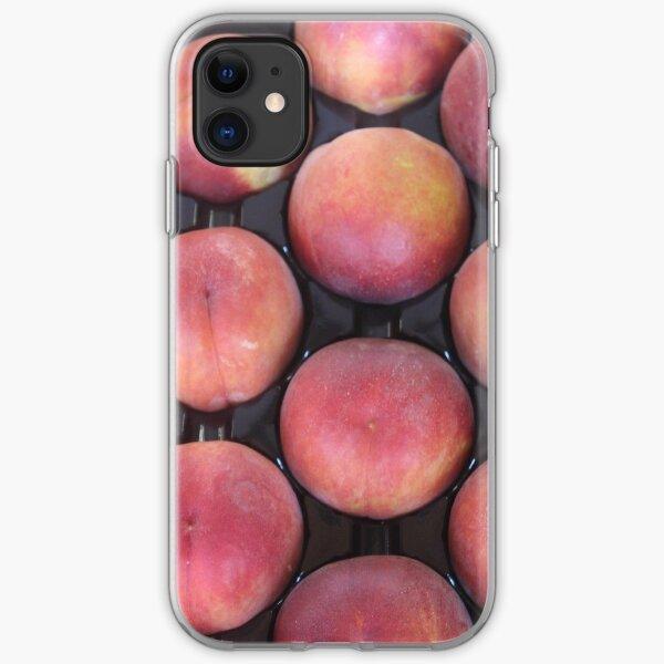 Plentiful Peaches iPhone Soft Case