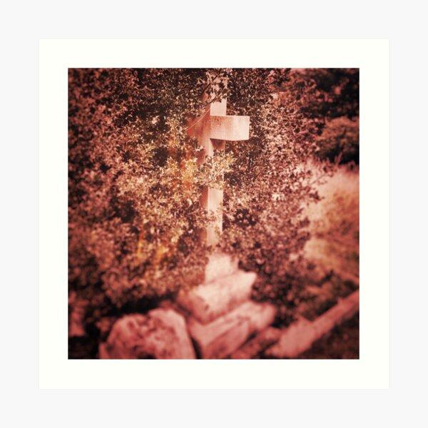 Hidden Cross Art Print