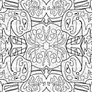 Doodle, Mirrored by April Johnson